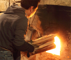 安藤工 穴窯の写真
